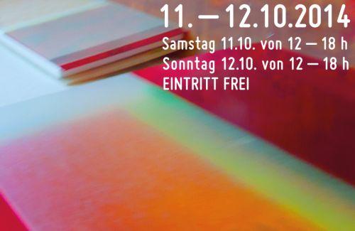 Eine Tour durch die Künstlerateliers in Charlottenburg 11. - 12. 10. 2014, 12 - 18 Uhr