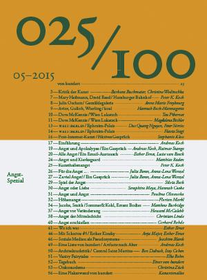 Die fünfundzwanzigste Ausgabe zum Runterladen (©2015 Büro für Film und Gestaltung)