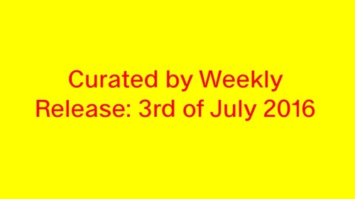 'Curated by Weekly' is a digital art project and a printed magazine for contemporary art. We will publish a new piece every week. Be excited! Start: 3. Juli 2016